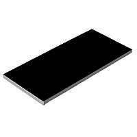 Плитка керамическая Aquaviva черная, 240х115х9 мм, 0,93 м2 /уп