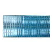 Плитка керамическая противоскользящая Aquaviva темно-голубая, 244х119х9 мм, 0,93 м2 /уп