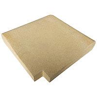 Прямой угловой копинговый камень Carobbio Expo, 390x390 мм (песочный)