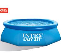 Семейный Надувной бассейн INTEX круглый Easy Set 305х76 см | KASPI RED