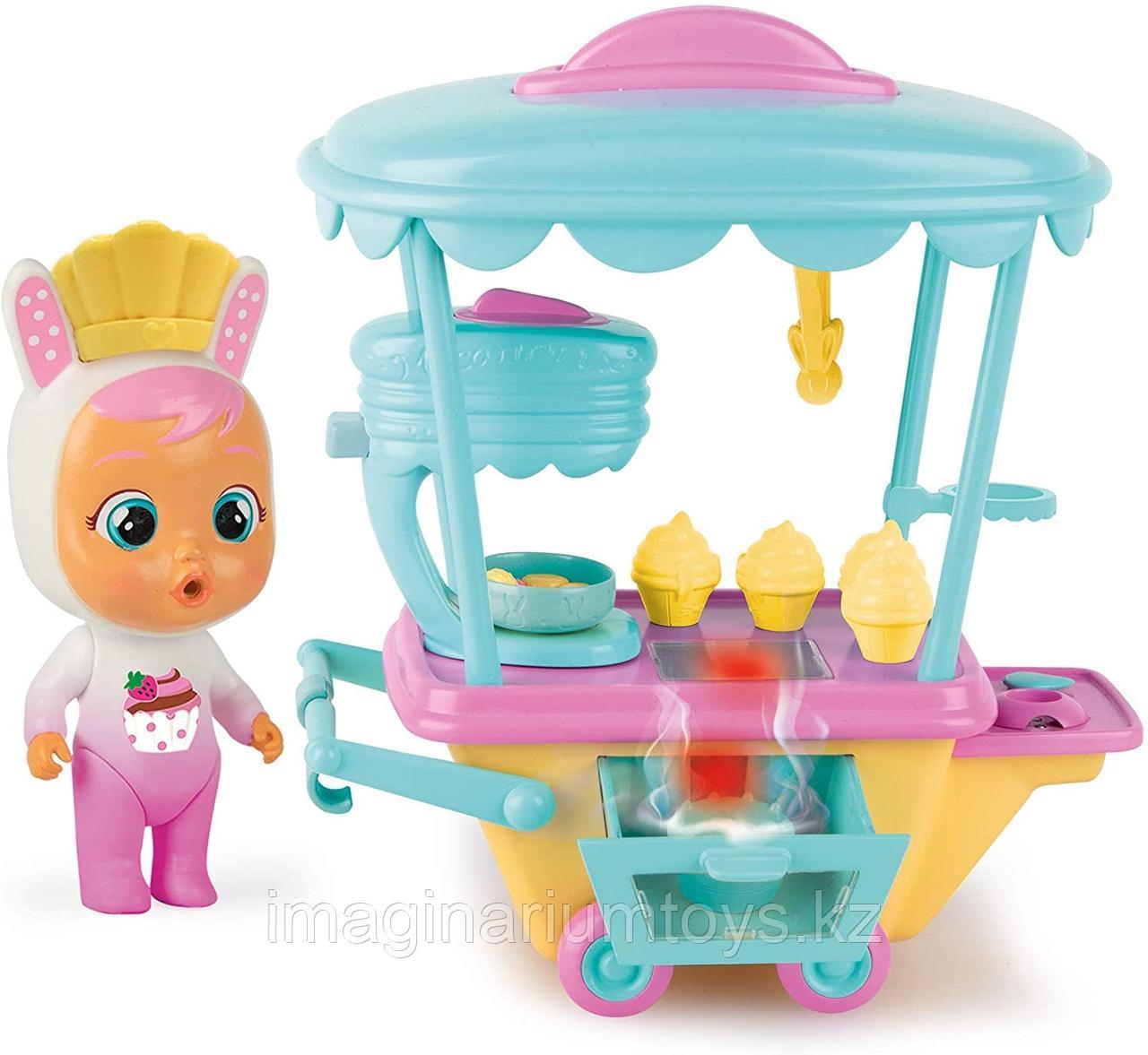 Cry Babies игровой набор интерактивная пекарня с куклой Кони - фото 1