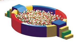 Сухой бассейн детский ZK257-6