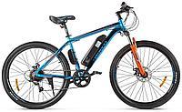Велогибрид Eltreco XT 600 D (Сине-оранжевый-2387), фото 1