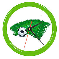 """Часы настенные """"PRINT"""" для рекламной вставки, Зеленый, -, 22006 15"""