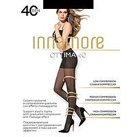 Колготки женские INNAMORE, цвет nero (чёрный), размер 3 (арт. Ottima 40)