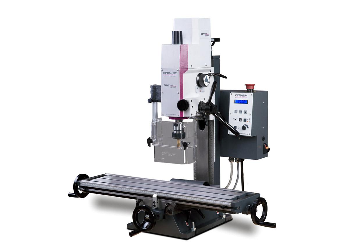 Станок фрезерный Optimum OPTImill MH20VL - фото 1