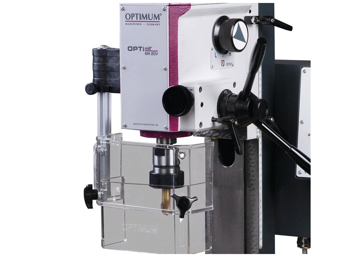Станок фрезерный Optimum OPTImill MH20VL - фото 3