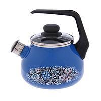 Чайник со свистком «Вологодский сувенир» 2 л, фиксированная ручка