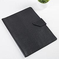 Папка для документов на клапане, 1 комплект, цвет чёрный
