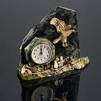 """Часы """"Орёл"""", змеевик"""