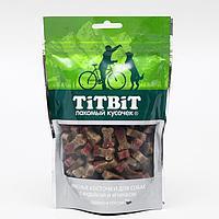 Лакомства TiTBiT Косточки мясные для собак с индейкой и ягненком, 145 г