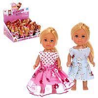 Кукла малышка «Виктория» с длинными волосами, МИКС
