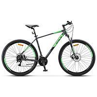 "Велосипед 29"" Stels Navigator-920 MD, V010, цвет антрацитовый/зелёный, размер 18,5"""