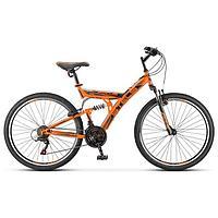 """Велосипед 26"""" Stels Focus V, V030, цвет оранжевый/черный, размер 18"""""""
