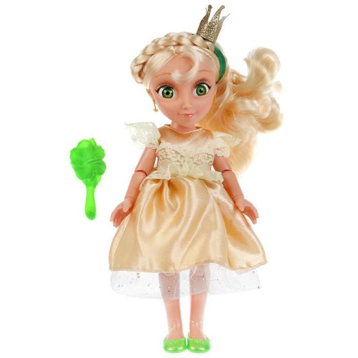 Кукла озвученная «Василиса», 32 см, новый наряд, 20 фраз и песен из м/ф - фото 3