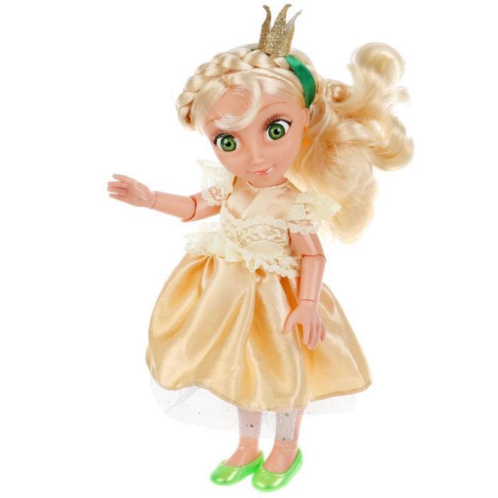 Кукла озвученная «Василиса», 32 см, новый наряд, 20 фраз и песен из м/ф - фото 4