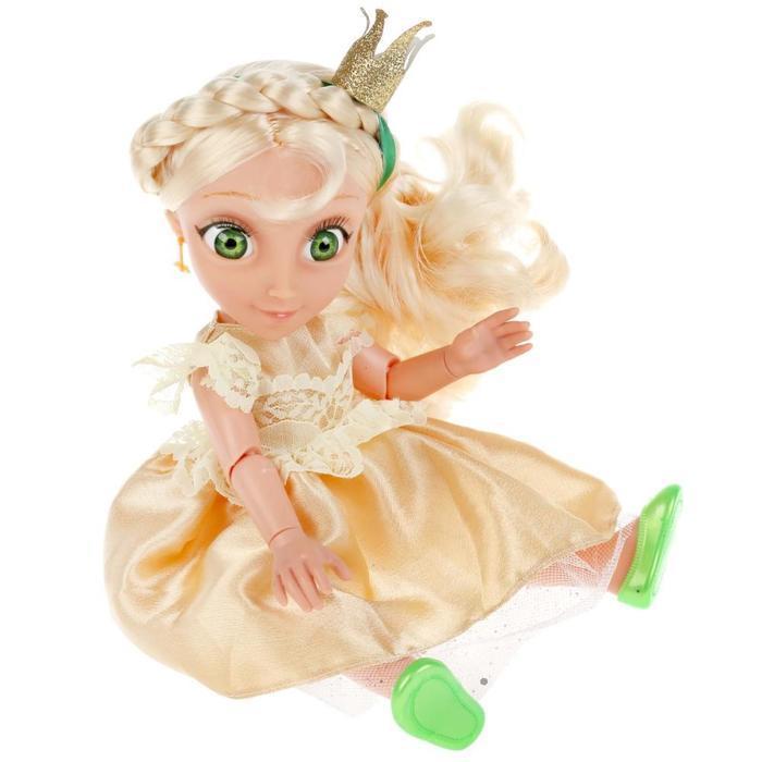 Кукла озвученная «Василиса», 32 см, новый наряд, 20 фраз и песен из м/ф - фото 6