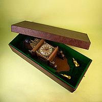 Настенные голландские часы с Атлантом Королевство Нидерланды. Середина ХХ века Дерево, бронза, литье