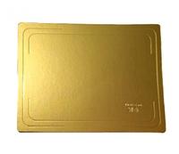 Подложка под торт Золото 30*40 2,5 мм