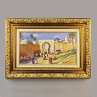 «Восточный базар» Bruno Retaux (род. в 1947) Франция. II половина XX века