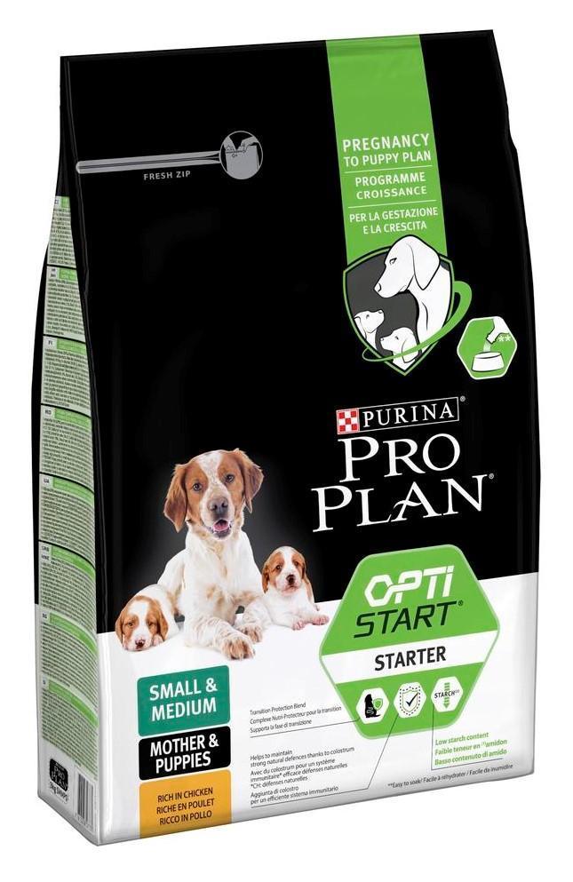 Проплан Starter Корм для щенков мелких и средних пород, 3 кг