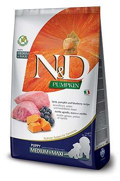 Farmina N&D корм для щенков средних и крупных пород, Ягненок 2,5 кг