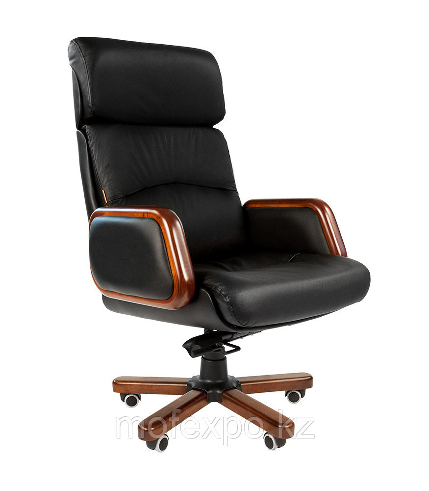 Кресло офисное кожаное