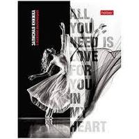 Записная книжка женщины 80л Hatber all you need is love for you in my heart