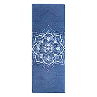 Коврик для йоги каучуковый (Sakura Mandala)