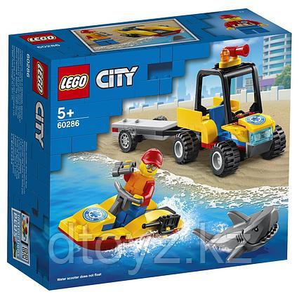 Lego City Great Vehicles Пляжный спасательный вездеход 60286