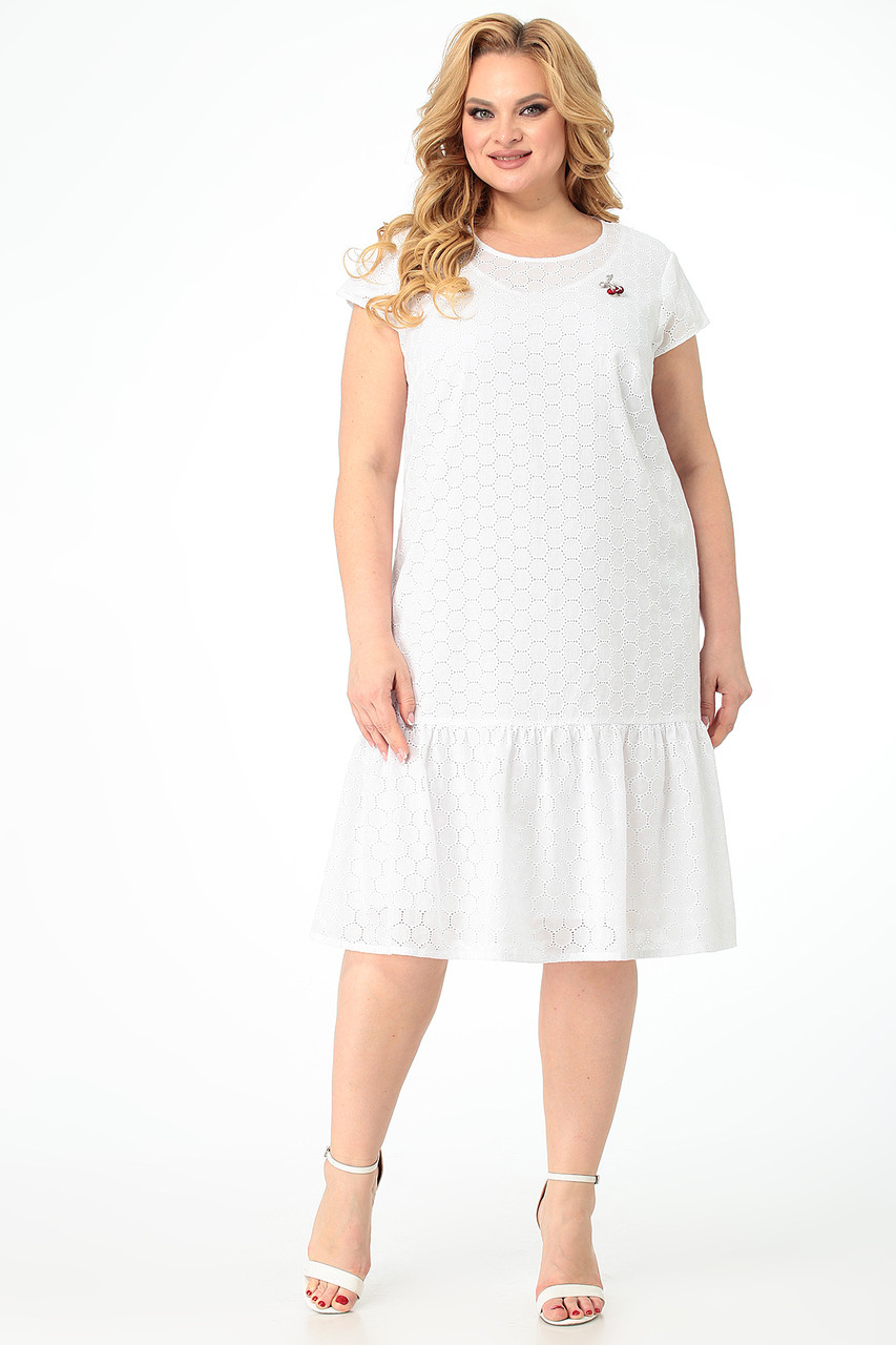 Женское платье больших размеров - фото 1
