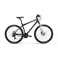 """Велосипед FORWARD SPORTING 27,5 2.0 disc (27,5"""" 21 ск. рост 19"""") 2020-2021, черный/белый, фото 1"""