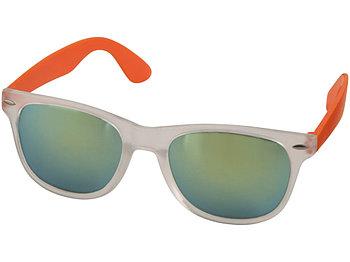 Солнцезащитные очки Sun Ray - зеркальные, оранжевый