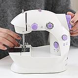 Портативная мини швейная машинка. Mini sewing machine., фото 2