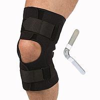 Бандаж разъемный на коленный сустав с полицентрическими шарнирами Т.44.28 (Т-8508)