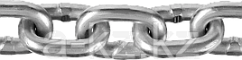 Цепь короткозвенная, DIN 766, оцинкованная сталь, d=4мм, L=70м, ЗУБР Профессионал