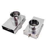 Вентиляция для бани КуБасту нерж 0,5 мм AISI 430.СтальМвеастер. (Вертикальная)., фото 2