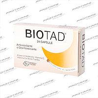 Biotad - Глютатион и витамин группы Е и С. Магнезия растительного происхождения, тиоктионовая кислота. 24