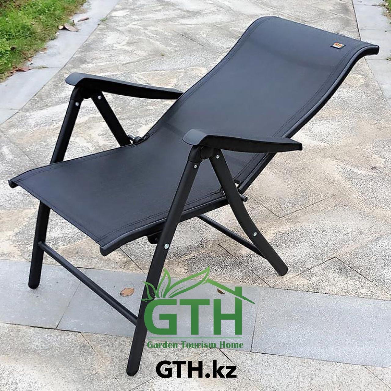 Складное кресло с регулировкой спины Zhejang Zhendong. Нагрузка 150 кг. Доставка. - фото 2