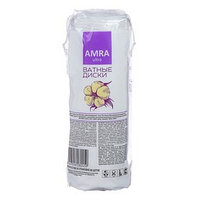 Диски ватные Amra, косметические, 80 шт
