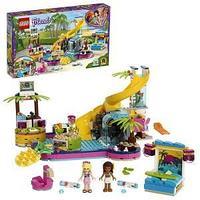 LEGO Friends 41374 Конструктор ЛЕГО Подружки Вечеринка Андреа у бассейна