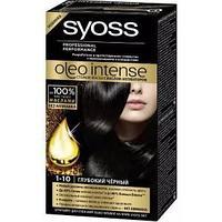 Краска для волос SYOSS Oleo Intense 1-10 Глубокий черный 115 мл
