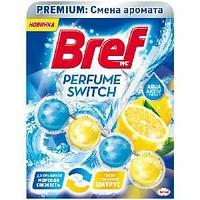 """Подвесной блок для унитаза Bref """"Perfume Switch. Освежающий цитрус"""", 50г, блистер"""