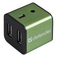 Разветвитель USB, HUB,  Quadro Iron.