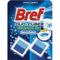 Кубики чистящие Bref Duo-Cubes для сливного бачка 2шт*50г