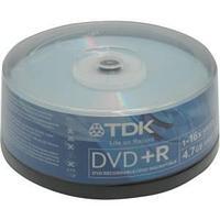 Диски TDK DVD+R 25 шт. шпиндель.