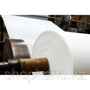 Размотка бумаги с роля в лист с подчисткой