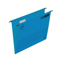 Подвесная папка, А4, картон, 225 г/м2, синяя