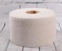 Туалетная бумага Jumbo Карина, двухслойная, 150 метров, серая