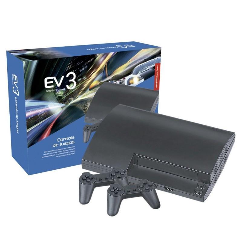Игровая ТВ-приставка EV3 Retro Game Console, портативная игровая ретро-консоль. Артикул 6129.